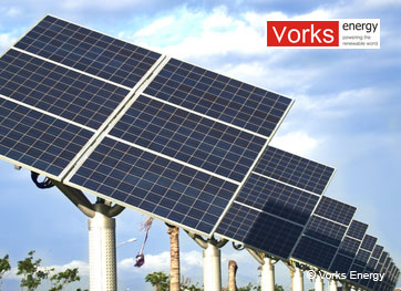 Vorks Energy - Dual Axis Solar Tracker